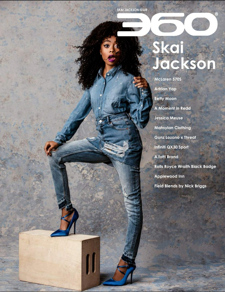 360 Issue 33 – Skai Jackson