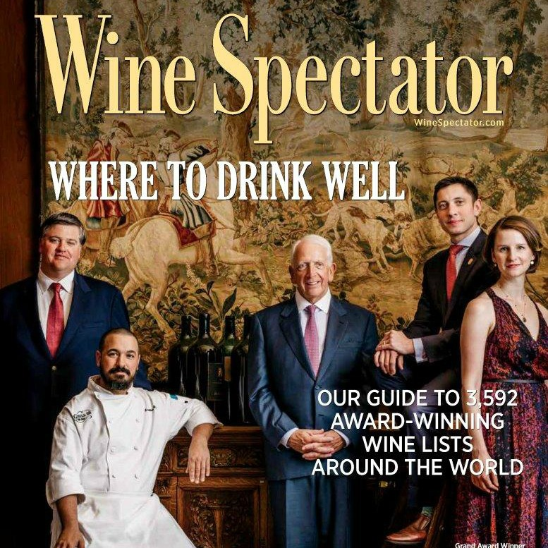 Wine Spectator's 2017 Restaurant Awards