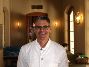 Chef Todd Knoll at Jordan Winery in Alexander Valley