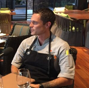 Mauna Kea Resort's Rio Miceli, Executive Sous Chef. Photo Credit: Tom Wilmer