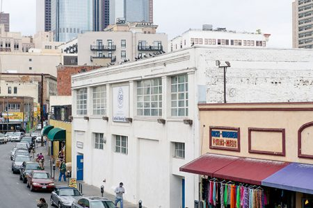 Cardinal Manning Center in the heart of Skid Row, downtown Los Angeles