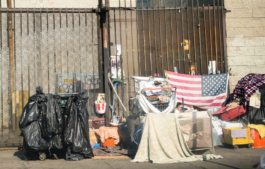 Skid Row Los Angeles. Photo Credit: Jimmy Cheng