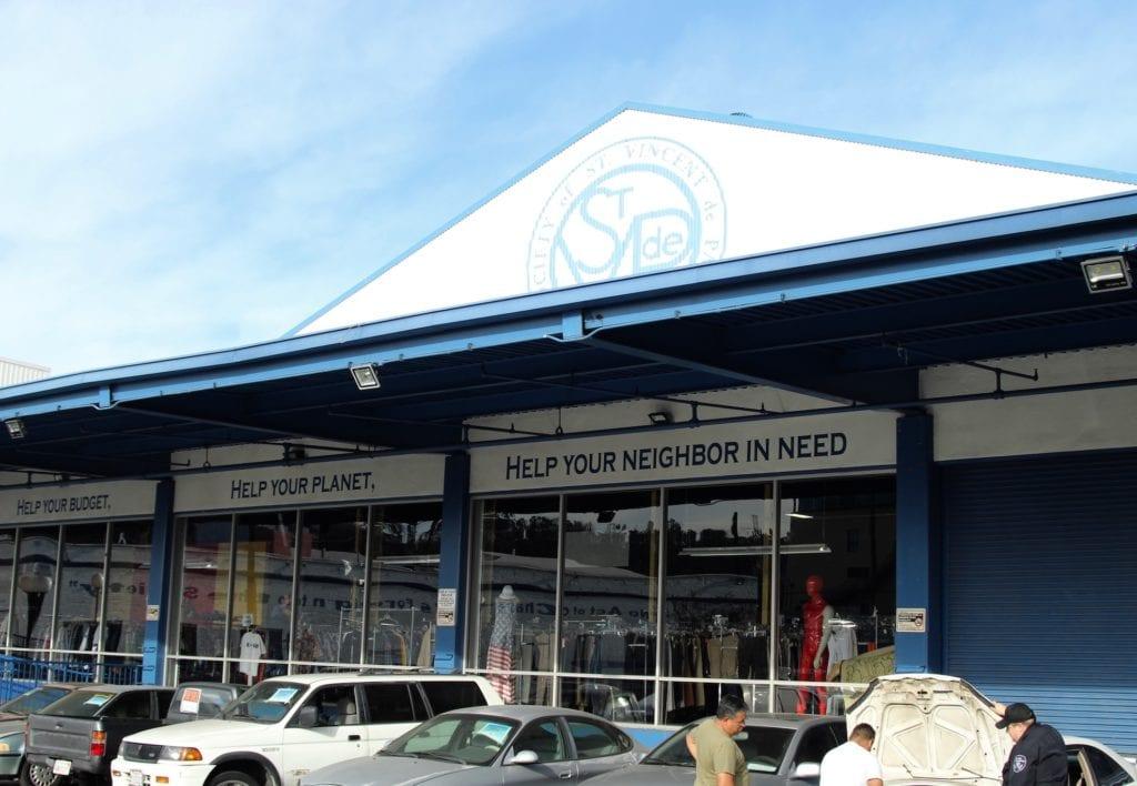 Saint Vincent de Paul's downtown Los Angeles Thrift Store