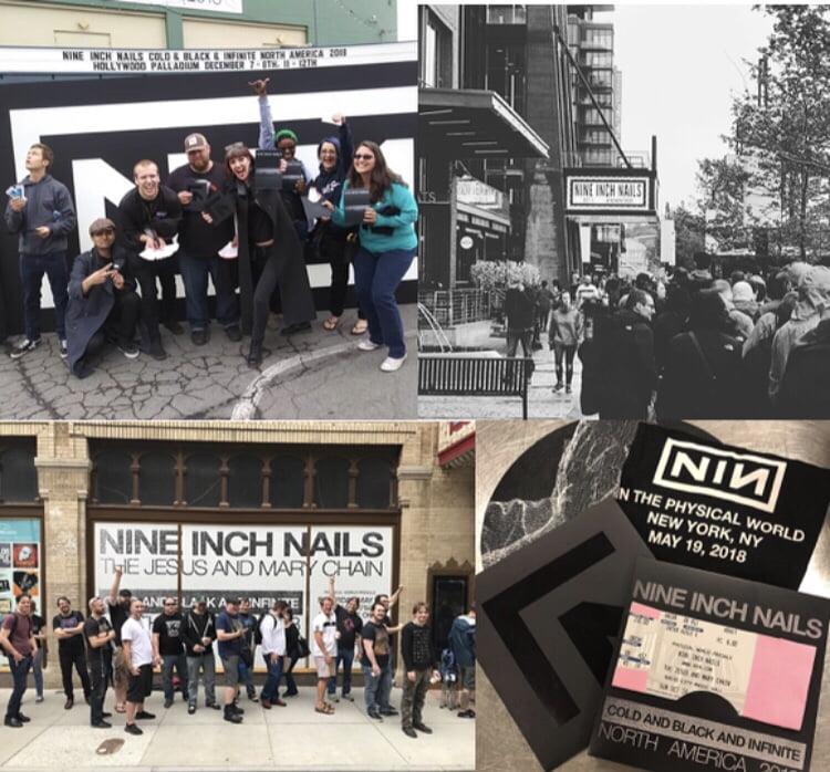 Nine Inch Nails Physical World Presale Events - 360 MAGAZINE | ART + ...