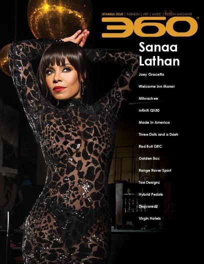 360 Issue 3 – Sanaa Lathan