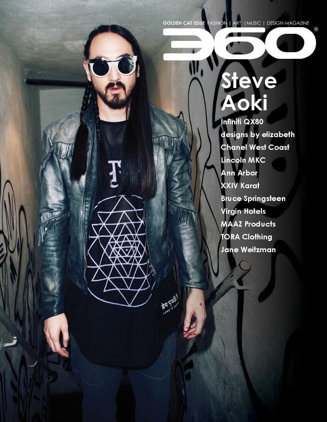 360 Issue 7 – Steve Aoki