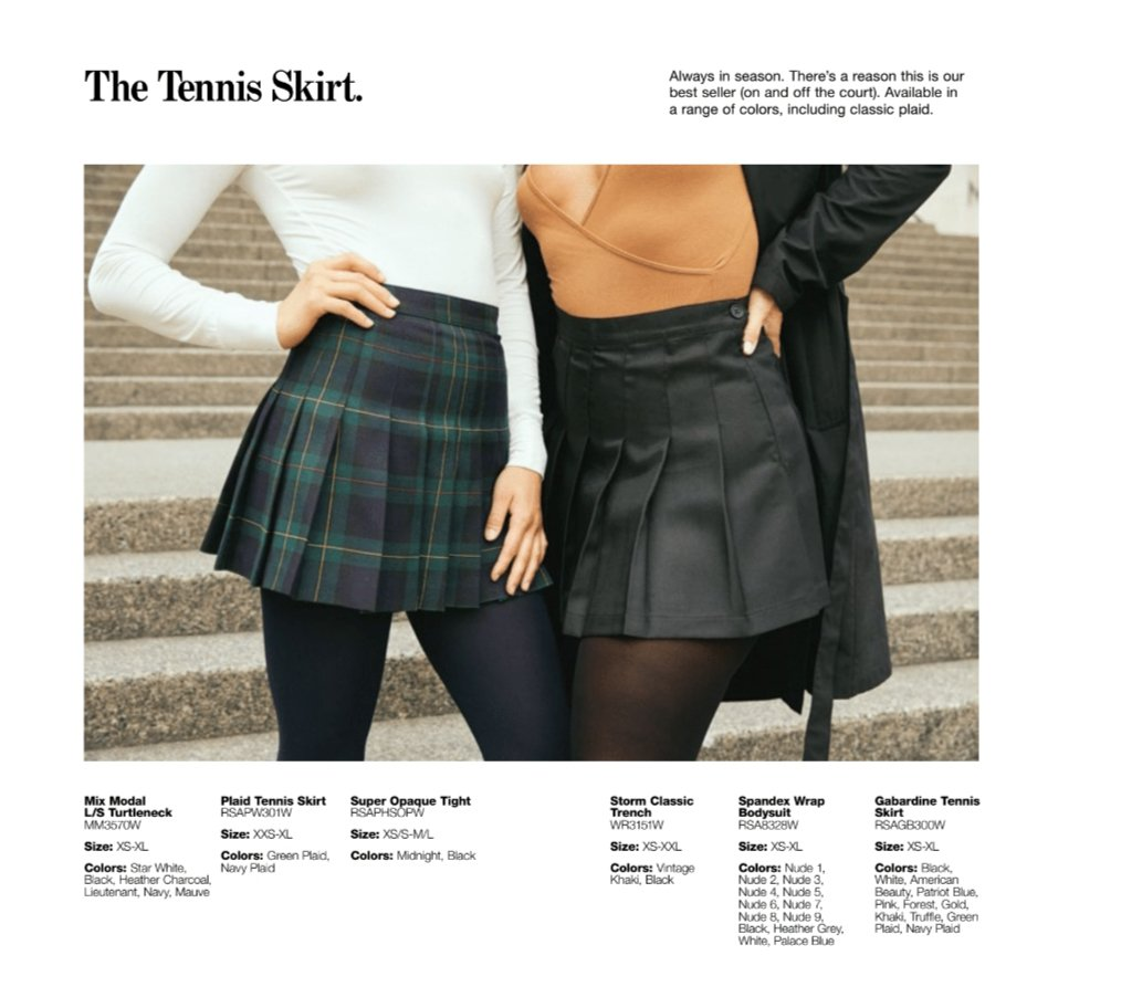 be1b4bb3b158 Another returning favorite for fall is the bestselling Tennis Skirt