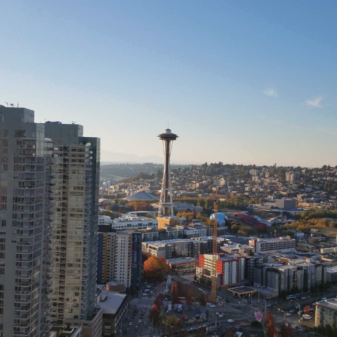 Lexus UX, 360 MAGAZINE, seattle, space needle