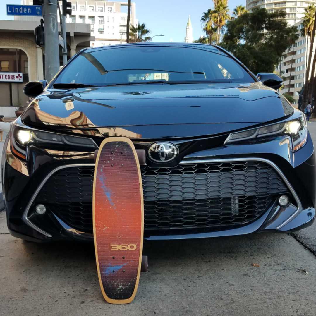 Toyota Corolla hatchback, 360 MAGAZINE, vaughn Lowery