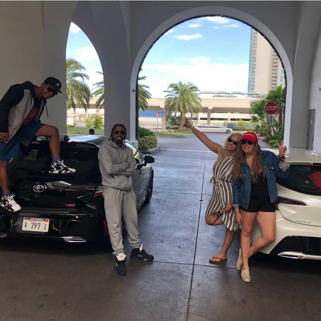 360 Magazine, Toyota, Corolla, hatchback, sls Las Vegas,  Vaughn Lowery, Chris Gates, Crystal Dominguez, lizza Monet Morales