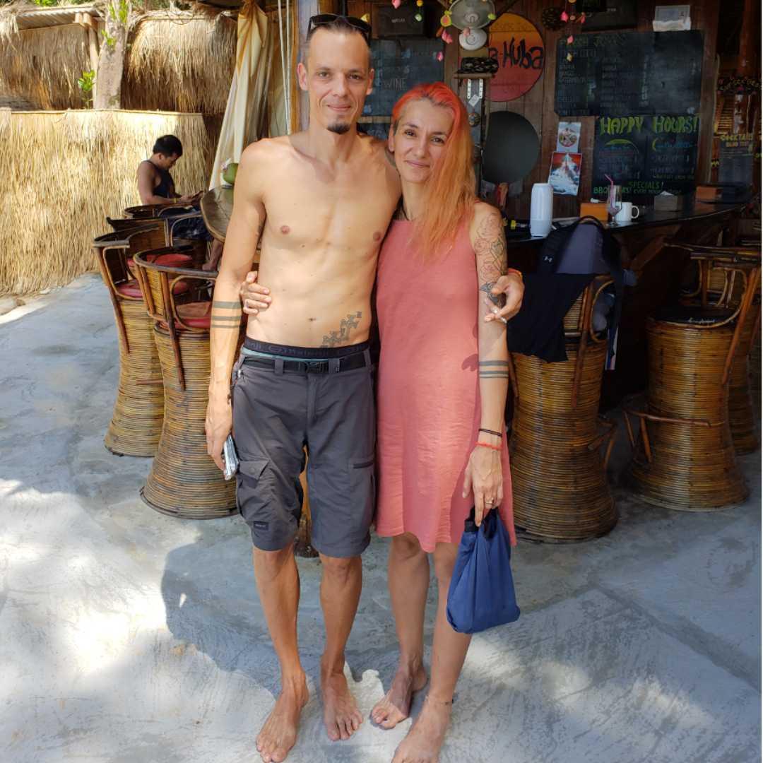 Owners of sunboo bungalows, koh rong samloem, Cambodia, 360 MAGAZINE