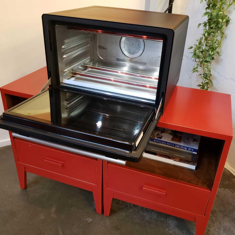 Wlabs smart oven, food network, kim sing theatre, 360 MAGAZINE, vaughn Lowery, katie lee
