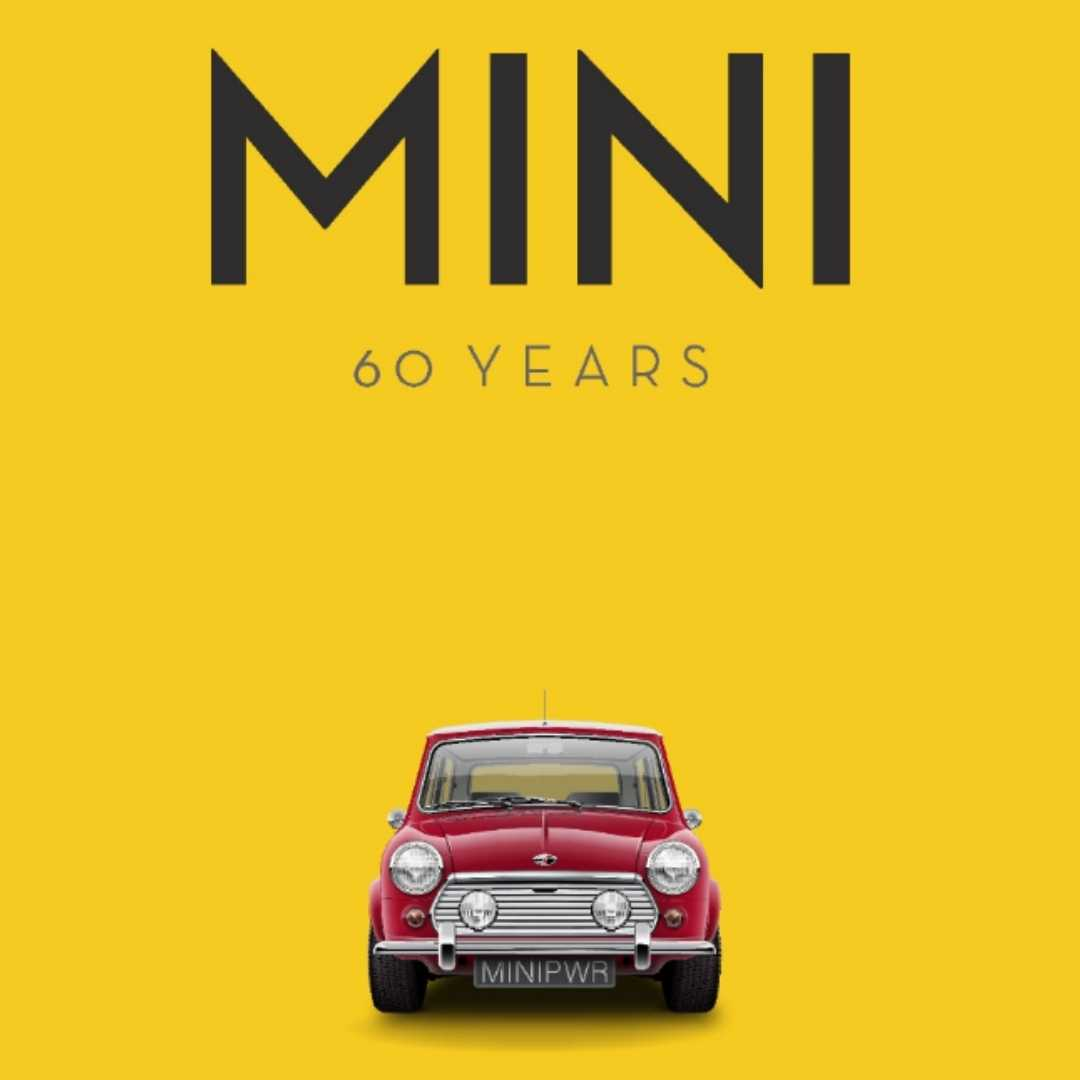 Giles Chapman, Mini Cooper, British, 360 MAGAZINE, 60 Years, BMW