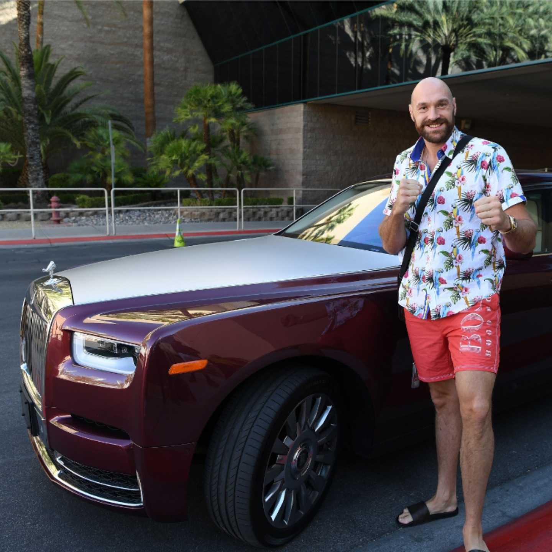 Tyson Fury, Rolls-Royce, Phantom, 360 MAGAZINE