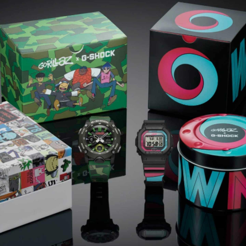 Gorillaz, G-Shock, 360 MAGAZINE