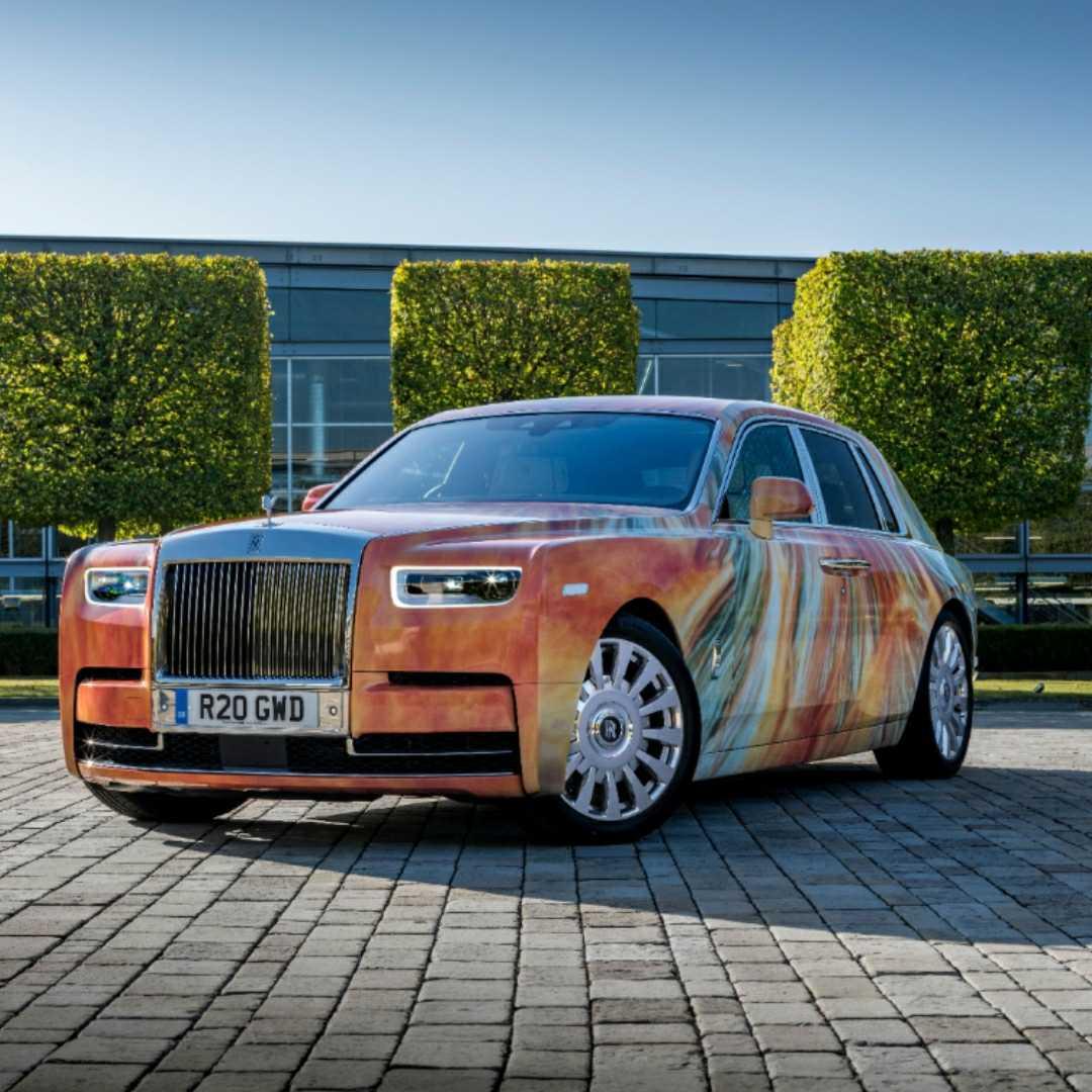 Rolls-Royce, Marc Quinn, 360 MAGAZINE