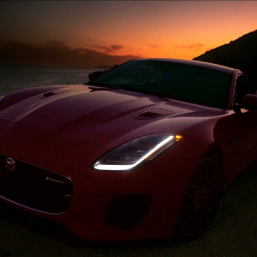 Jeff Langlois, Jaguar F Type R Dynamic, 2020, 360 MAGAZINE