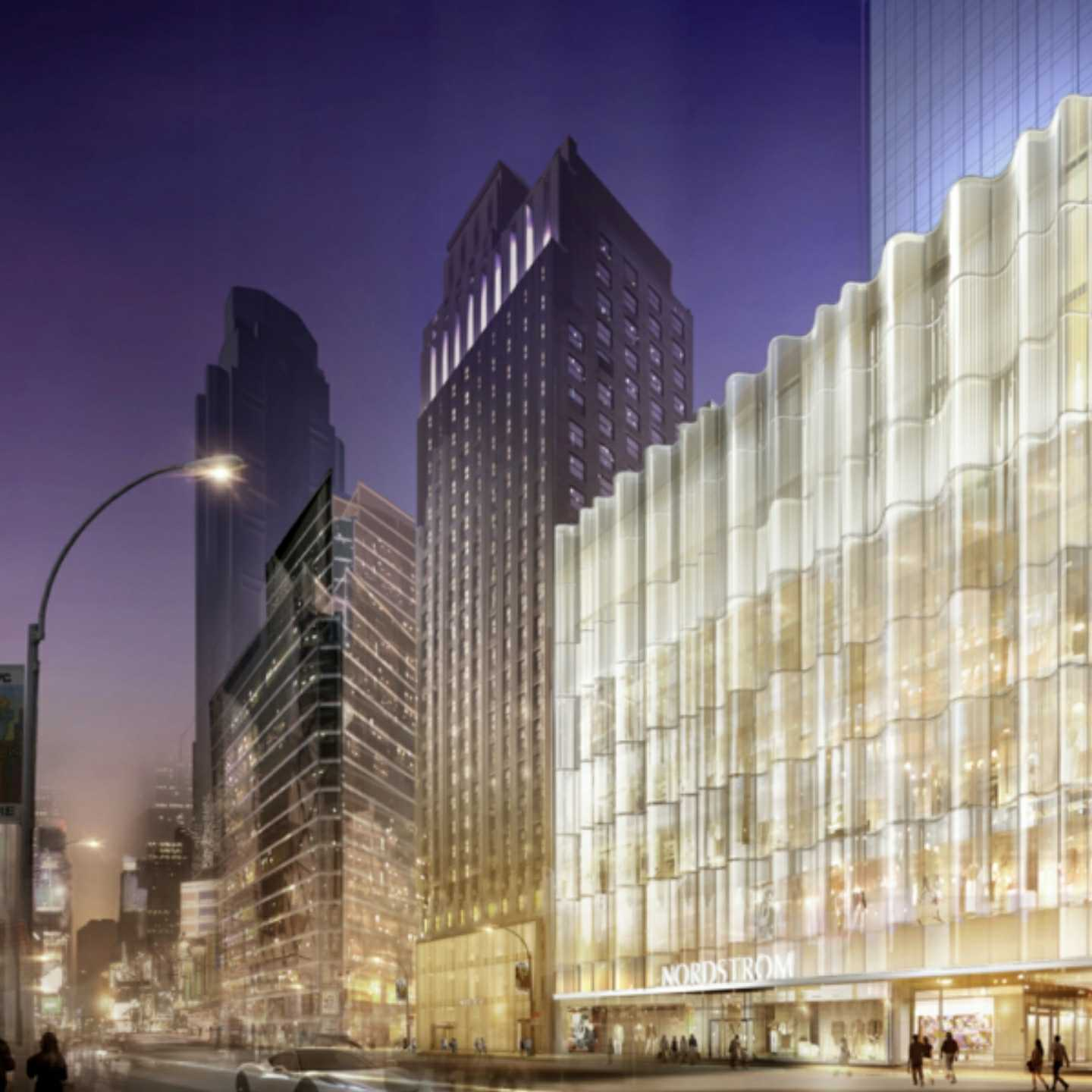 Nordstrom, NYC, flagship, rendering, fashion, top retailers, 360 MAGAZINE