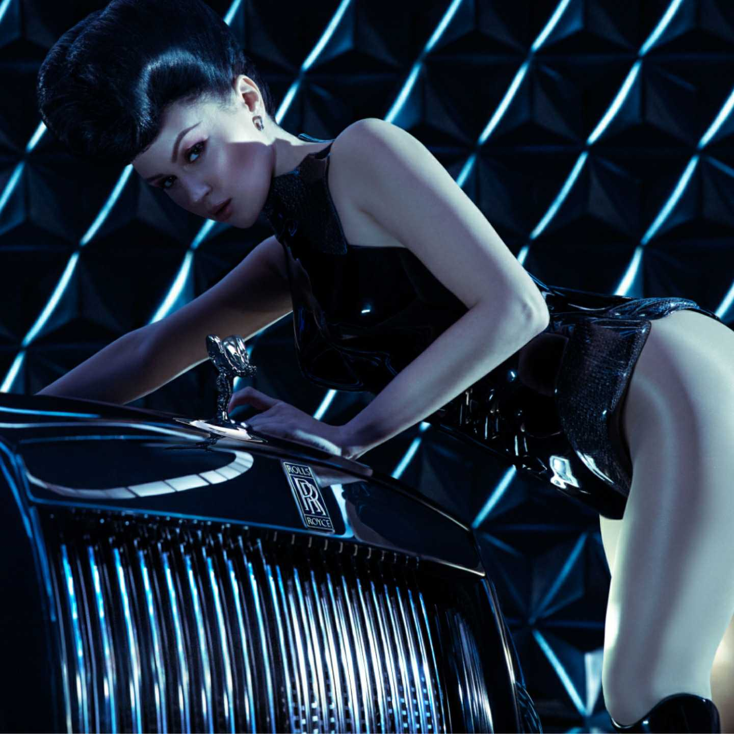 Viktoria Modesta, Rolls-Royce, Black Badge, luxury, bespoke, entrepreneur, millennial, art, design, bionic, 360 MAGAZINE, the360mag, 360 MAG