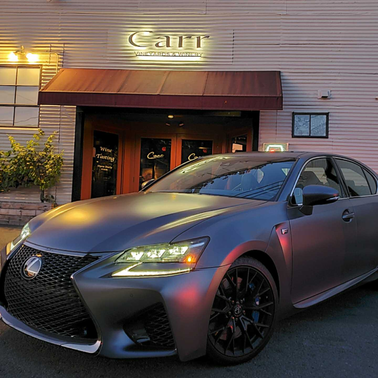 Carr Winery, Santa Barbara, 360 MAGAZINE, Lexus, GS F, Vaughn Lowery
