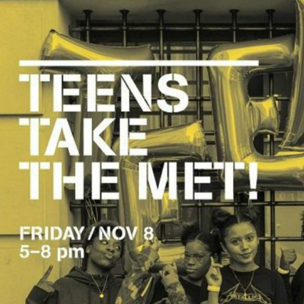 teens take the met, met museum, 360 MAGAZINE