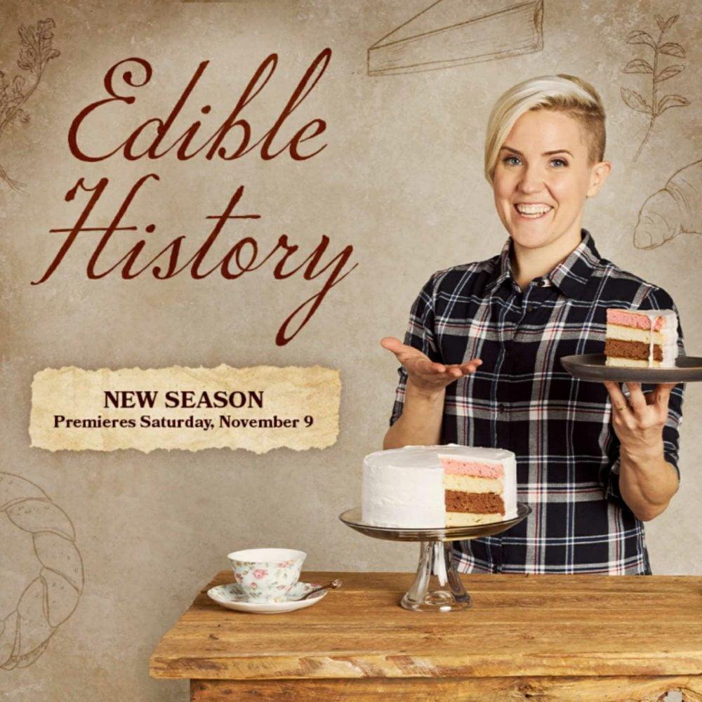 Hannah Hart, edible history, buzzfeed, 360 magazine