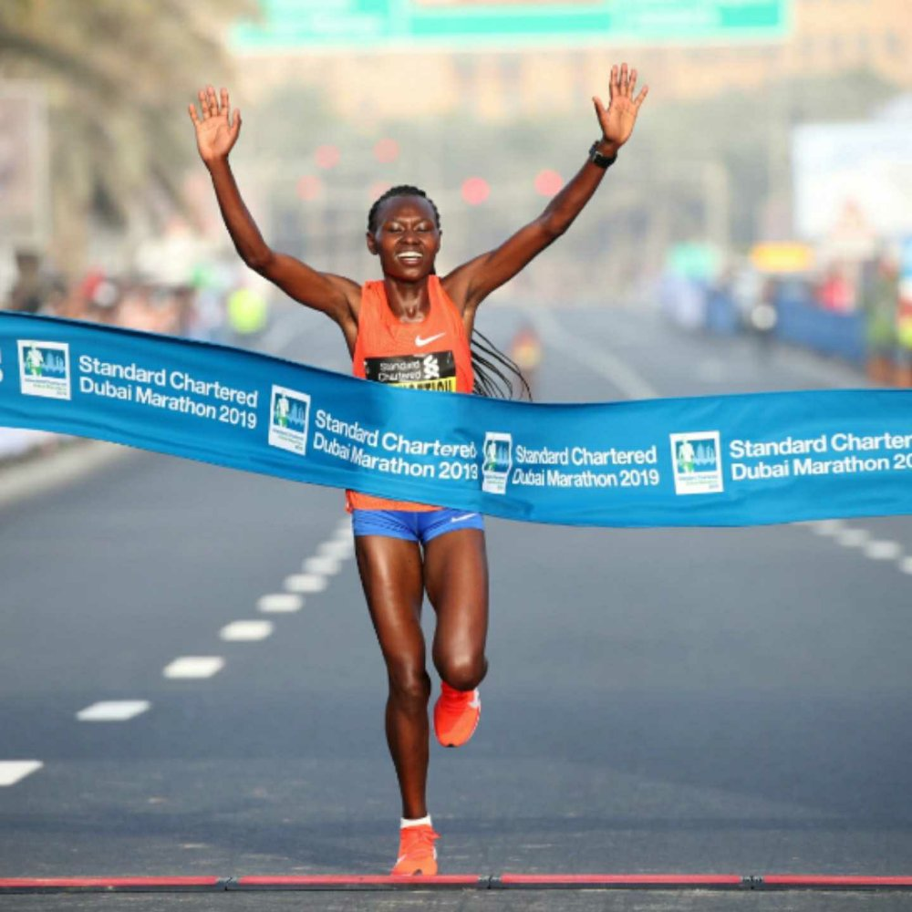 Dubai marathon, uae, 360 MAGAZINE, Ruth Chepngetich