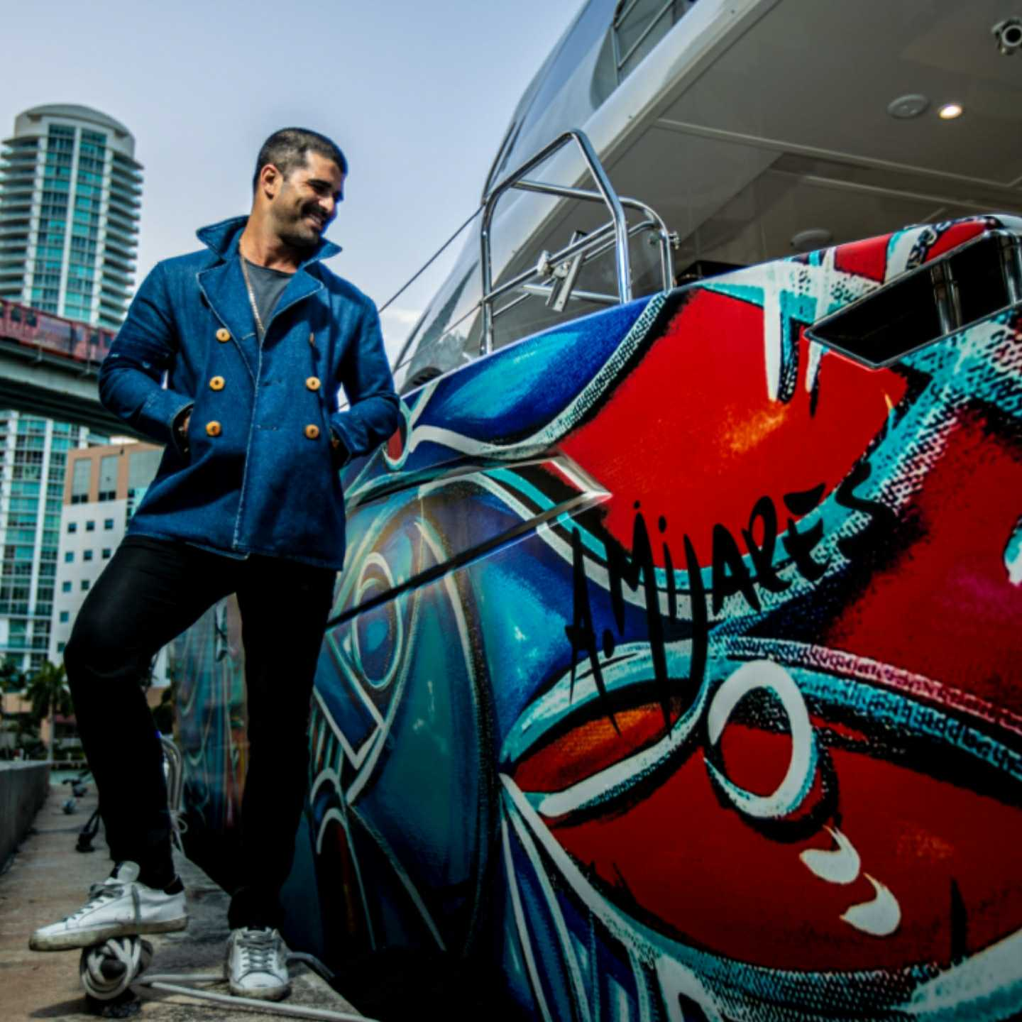 Alexander Mijares, Sunreef Yatchts, wynwood, 360 MAGAZINE, Miami, 360, art, design