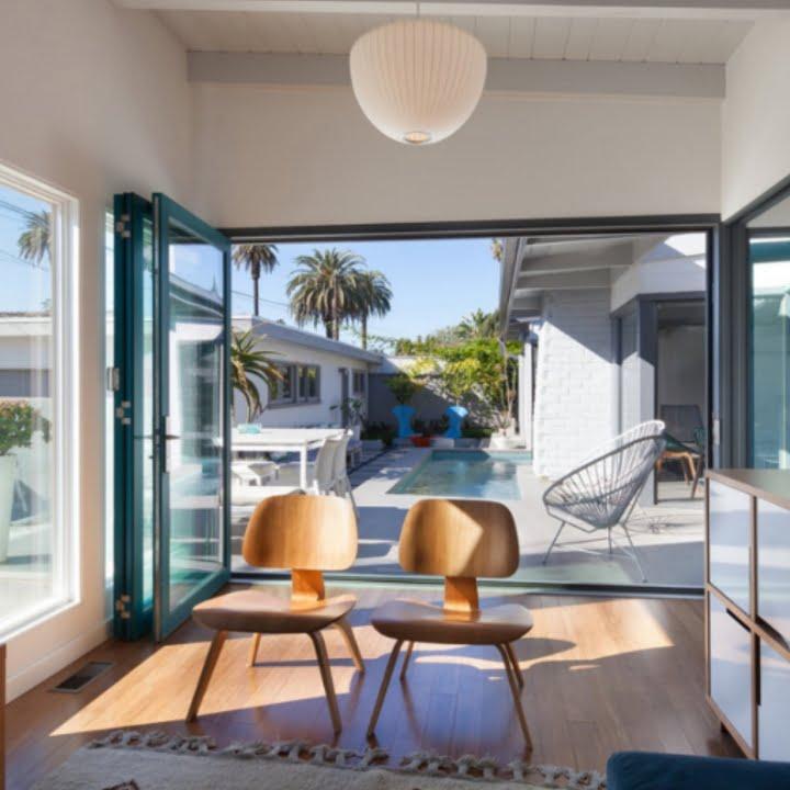 360 Magazine,Architect,California,decor,design,Fredrick Monhoff,interior design,mid century,open concept,renovation,Santa Monica,Santa Monica Mid Century,Vaughn Lowery,