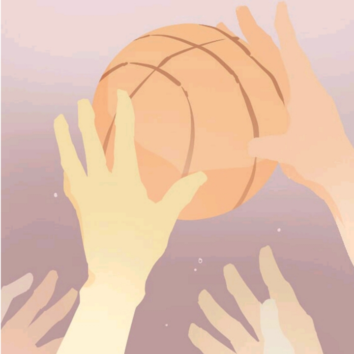 Illustration, NBA, basketball, Vaughn Lowery, 360 MAGAZINE, szemui ho