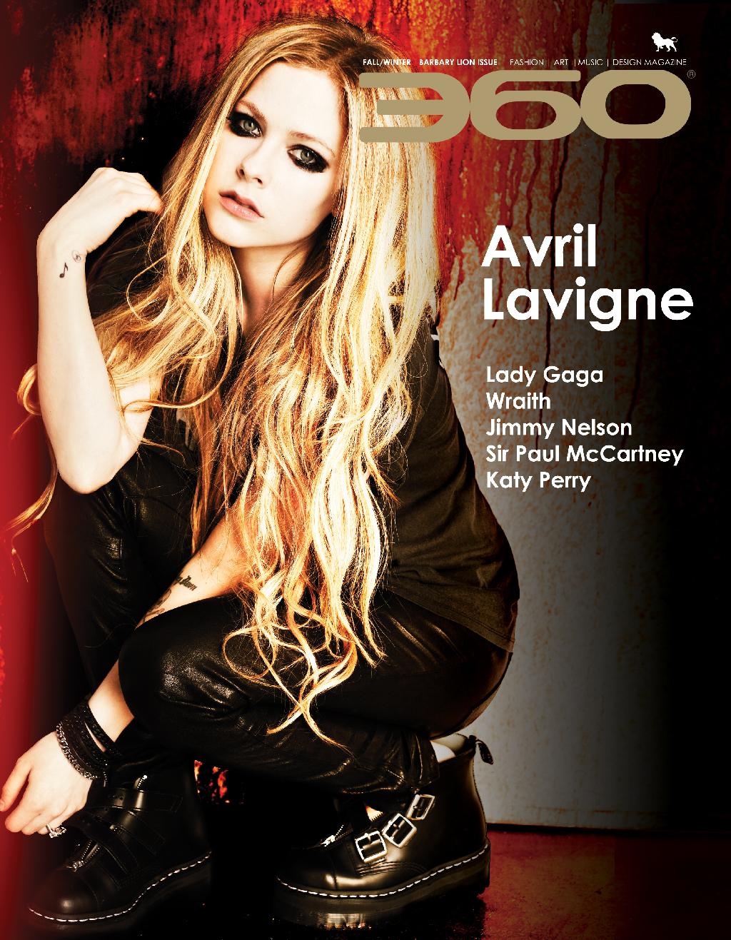 360 Issue 16 – Avril Lavigne